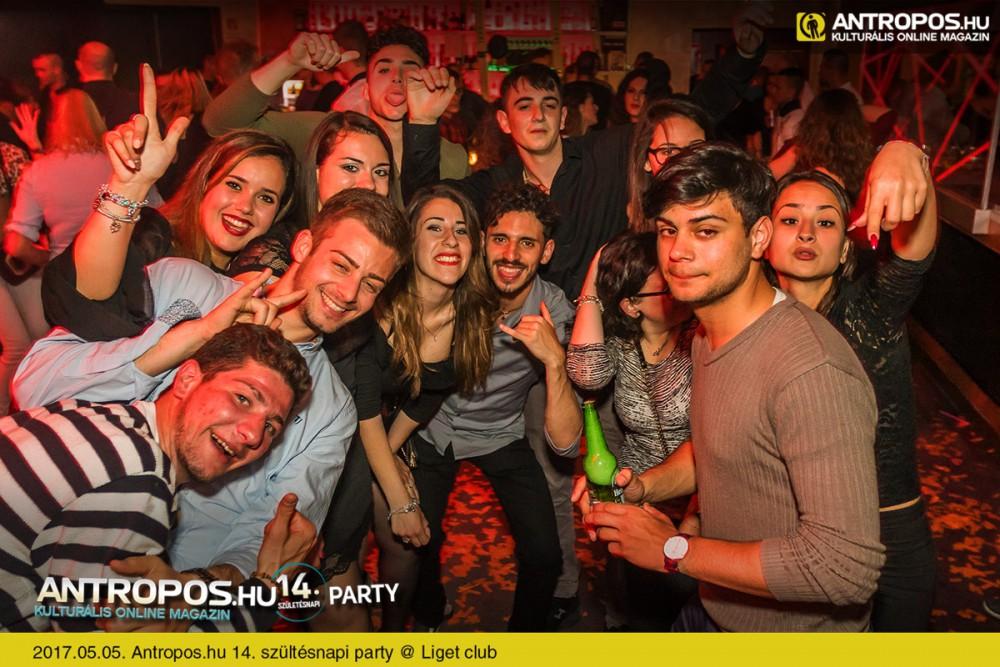 Antropos.hu 14. szültésnapi party /III. @ Liget club // Fotó: www.antropos.hu - Kattins a képre és nézd meg az egész sorozatot!