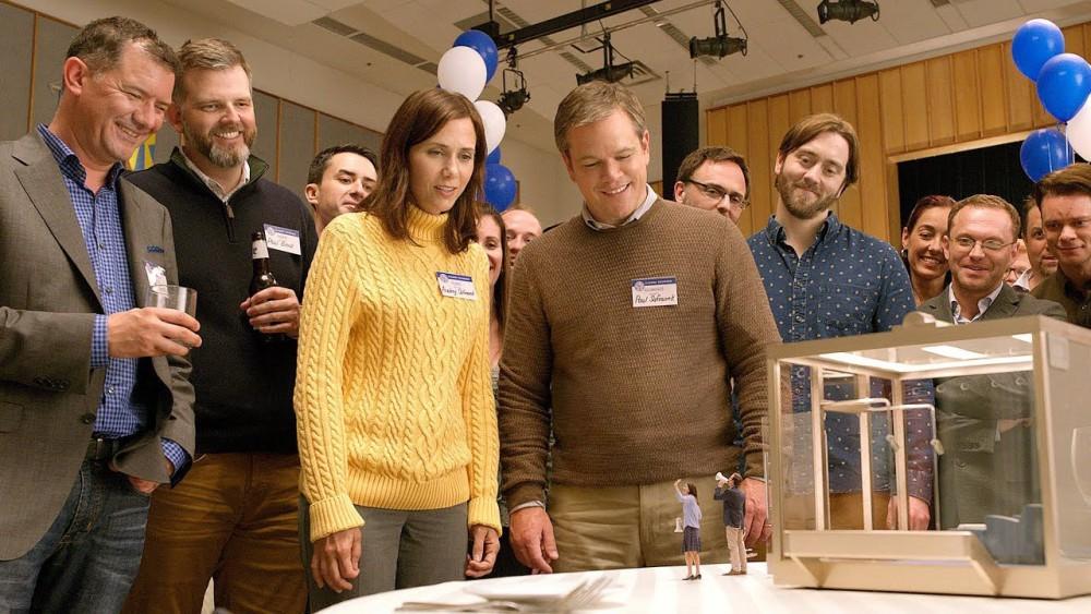 Christoph Waltz, Matt Damon, Kristen Wiig / kicsinyítés
